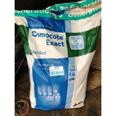 Akıllı Gübre Osmokot Exact  İthal  8-9 Aylık Osmocote Exact 15+9+12+2 Mg +TE  23 Kg Fiyatımızdır